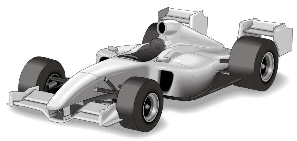 F1 split rear wing overtaking